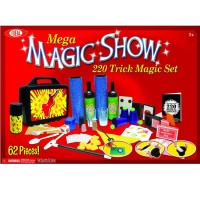Kids Mega Magic Show 220 Magic Tricks Kit