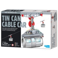 Tin Can Cable Car Building Kit for Kids