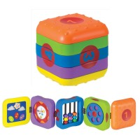 Whoozit Learn & Play Folding Cube Baby Toy