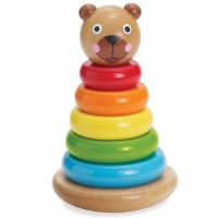 Brilliant Bear Magnetic Stack Up Baby Toy