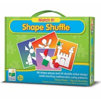 Match It! Shape Shuffle - Shapes Teaching Toy