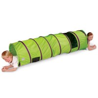 See Me 6 ft Kids Play Tunnel - Green