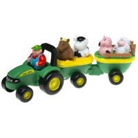 John Deere Animal Sounds Hayride Toddler Farm Playset