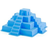 Mayan Pyramid Blue Mold Sand Building Toy