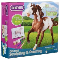 Horse Deluxe Model Sculpting & Painting Craft Kit