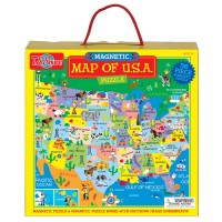 USA Map Magnetic Puzzle