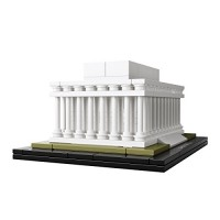 Lincoln Memorial LEGO Construction Set by LEGO Architecture