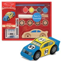 Decorate Wooden Race Car Craft Kit