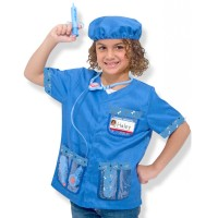 Vet Doctor Kids Costume Role Play Set