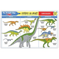 Dinosaurs Coloring Learning Placemat