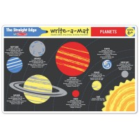 Planets Coloring Learning Placemat