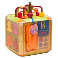Times Square Light & Sound Toddler Activity Cube