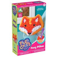 PlushCraft Foxy Pillow Girls Craft Kit