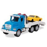 Driven Tow Truck Micro Series Lights & Sounds 2 Vehicles Set