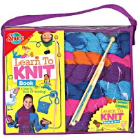 Learn to Knit Activity Set & Book