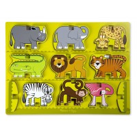Animals Stacking Chunky Puzzle