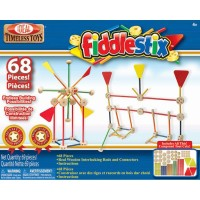 Fiddlestix Classic Wooden 68 pc Building Set