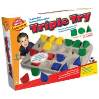 Triple Try 3D Perception Thinking Game
