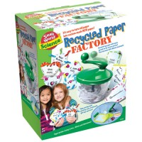Recycled Paper Factory for Kids