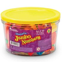 Jumbo Magnetic Numbers Set of 36