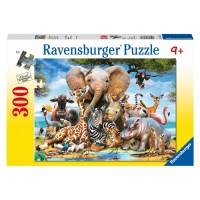 African Friends 300 pc Animal Puzzle