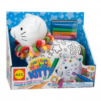 Color & Cuddle Washable Kitty