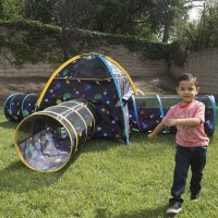Galaxy Combo Junction Glow-in-the-Dark Play Tent & Tunnels Set