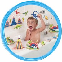 Dinosaur Bath Playset