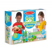 Dog Groomer Wash & Trim 20 pc Play Set
