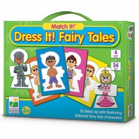 Dress It! Fairy Tales Puzzle Game
