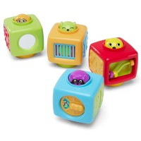 Click n Spin Activity Blocks Baby Toy