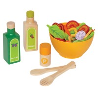 Garden Salad Wooden Play Food Set