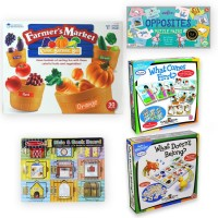 Learn to Think Development Kit for Preschool Kids