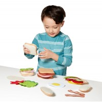 Felt Food - Sandwich Sorting & Matching Set