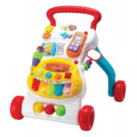 Grow with Me Musical Walker Toddler Push Toy