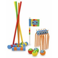 Happy Giddy Kids Croquet Set