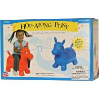 Hop Along Pony - Inflatable Hopping Horse