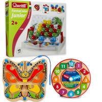 Cognitive Development Kit of 3 Toys for 2-4 years