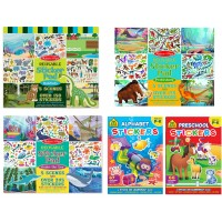 Children Stickers Set Educational for Preschool