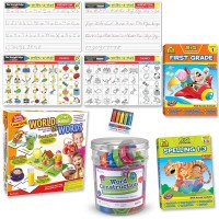 1st Grade Language Skills Play & Learn Kit - Reading, Phonics, Spelling & Handwriting