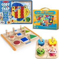 Montessori Learning Materials Set for 2-3 Years
