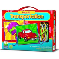 Transportation Lace It - Vehicles Lacing Toy
