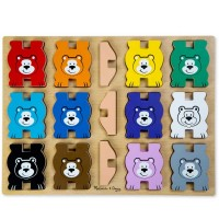 Color Bears Stacking Chunky Puzzle