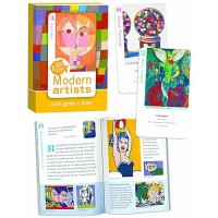 Modern Artists Go Fish Card Game & Book