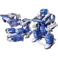 T3 Transforming Solar Robot 3 Models Building Set