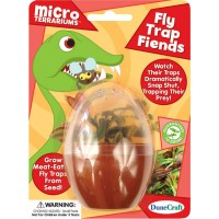 Fly Trap Fiends Micro Terrarium Mini Plant Kit
