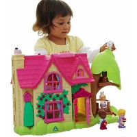 First Dollhouse Playset - Cherry Lane Cottage
