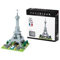 Nanoblock Building Set - Eiffel Tower