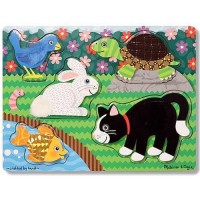 Pets Touch & Feel Puzzle