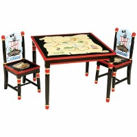 Pirate Collection Table & Chairs